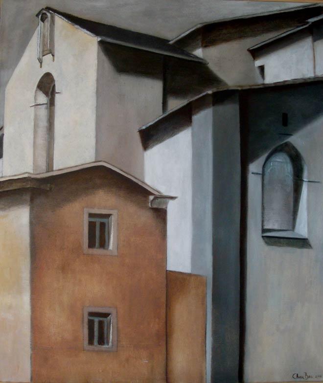 San Francesco, Olio su tela 60 x 70